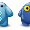 Twitter and Facebook Icons