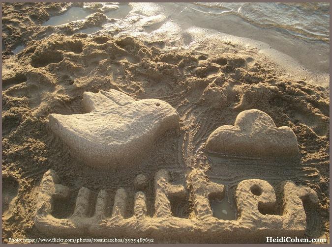 Twitter escultura de arena | Flickr - Photo Sharing!