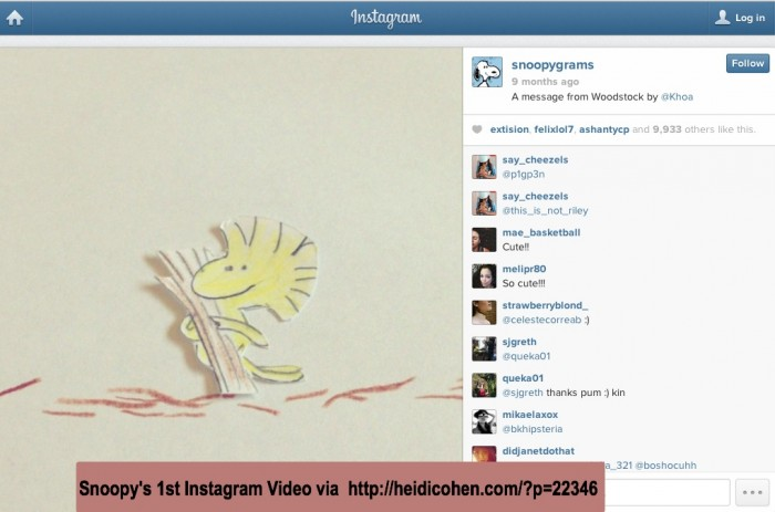 Instagram Video - Snoopy