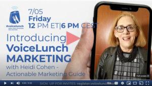Voice Lunch Marketing