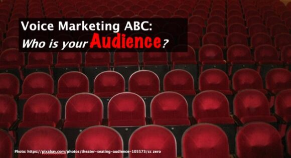 Voice Marketing ABC: Who is Your audience?