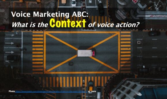 Voice marketing ABC: Context