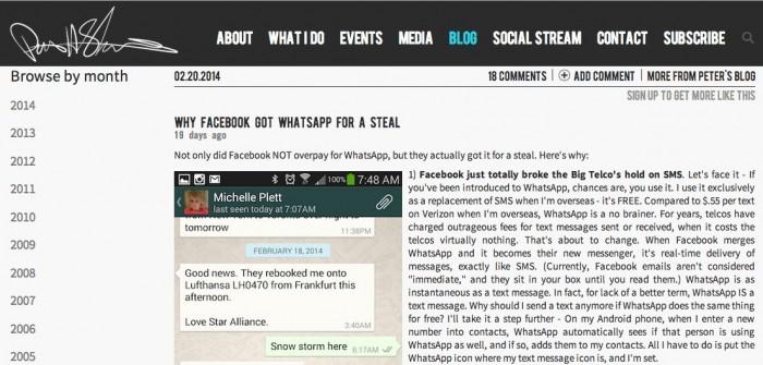 Why Facebook Got WhatsApp -Peter Shankman - Content marketing Secret-1