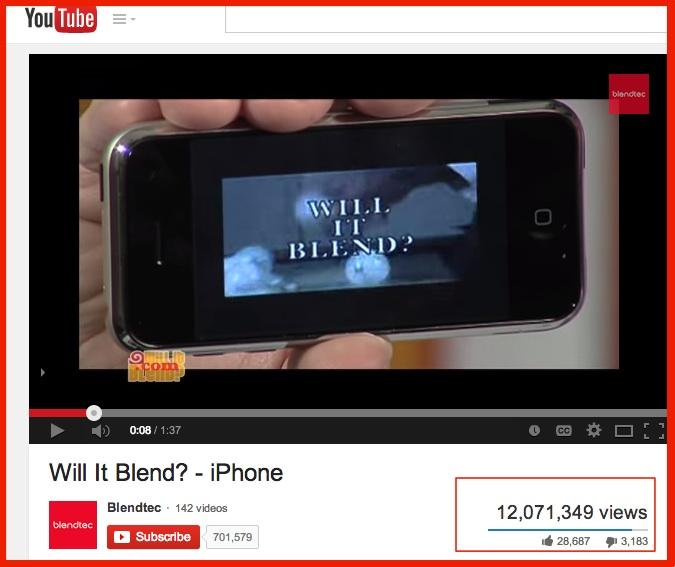Will It Blend- YouTube-SOcial Media pLatform 2014-1