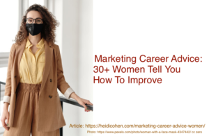Marketing Career Advice Women