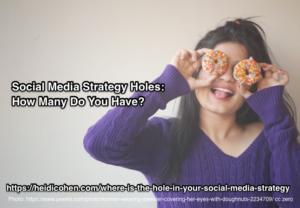 Social Media Strategy Holes