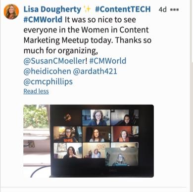 Lisa Dougherty Tweet