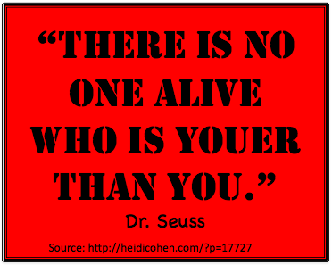 Youer than You-Dr Seuss-Heidi Cohen