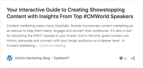 CMWorld Interactive Guide