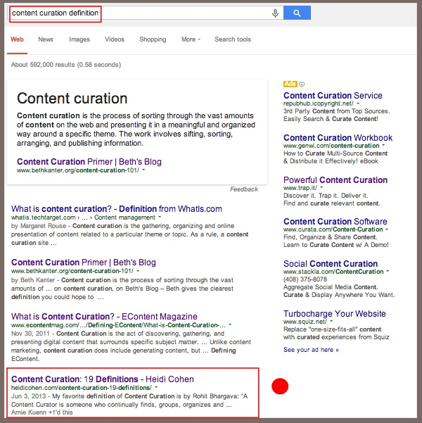 Content Aggregation Example