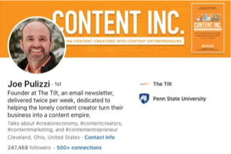 content inc page