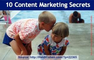 content marketing secret