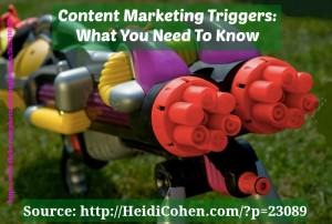content marketing trigger