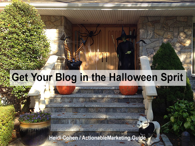 31 Blog tricks for Halloween