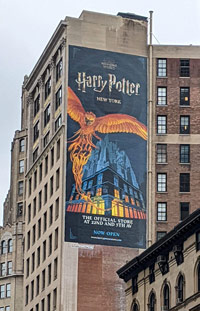 Harry Potter Building Ad