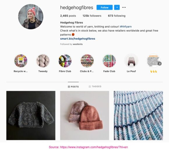 Hedgehogfibres on Instagram