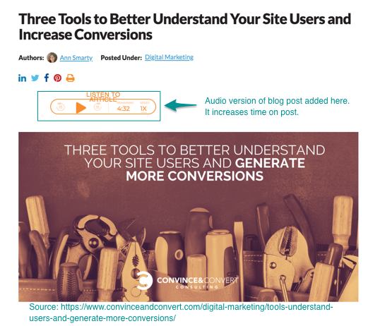 3 Tools From Convince and Convert