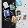 iphone-3d-social-media-icons-broken-display