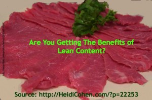 Are you getting the benefit of lean content