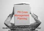 PR Crisis Management Planning