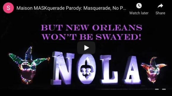 But New Orleans Won't Be Swayed - February Holiday