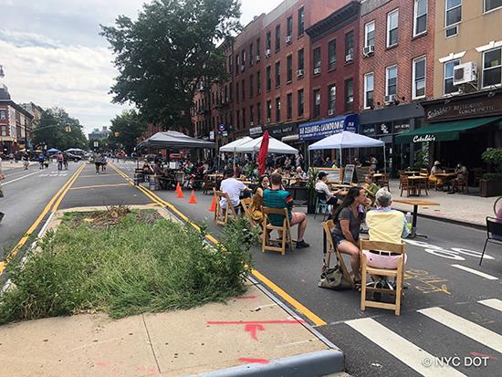 NYC Open Street/Open Restaurants