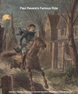 Paul Revere's Famous Ride