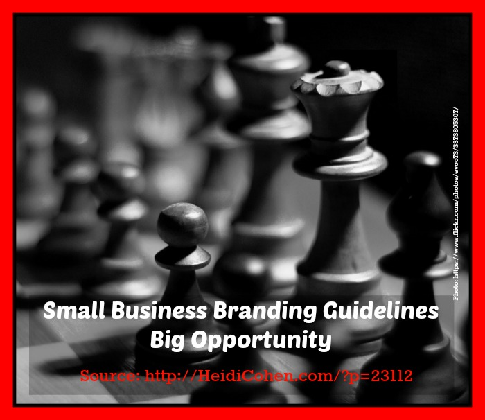 Small business brand big opportunity