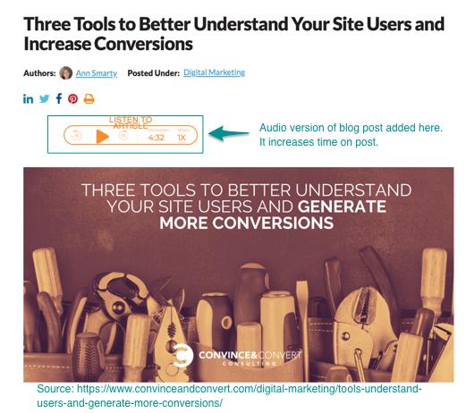 three tools to understand conversation