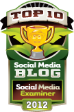 Social Media Examiner - Top 10 Social Media Blog, 2012