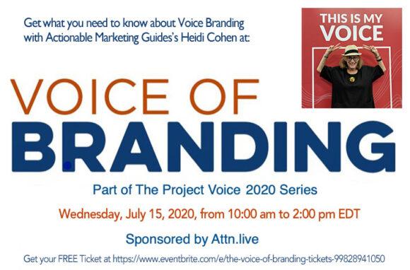 Voice of Branding